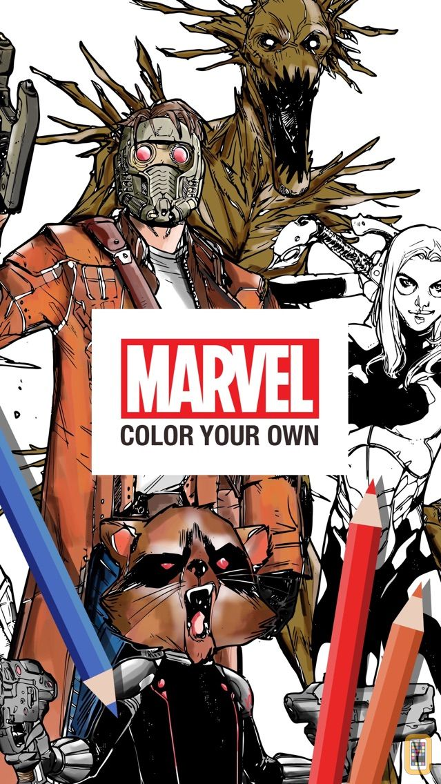 Screenshot - Marvel: Color Your Own