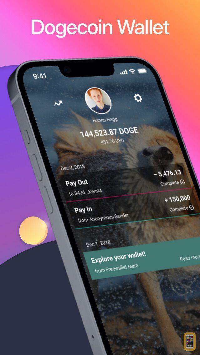Screenshot - Dogecoin Wallet by Freewallet