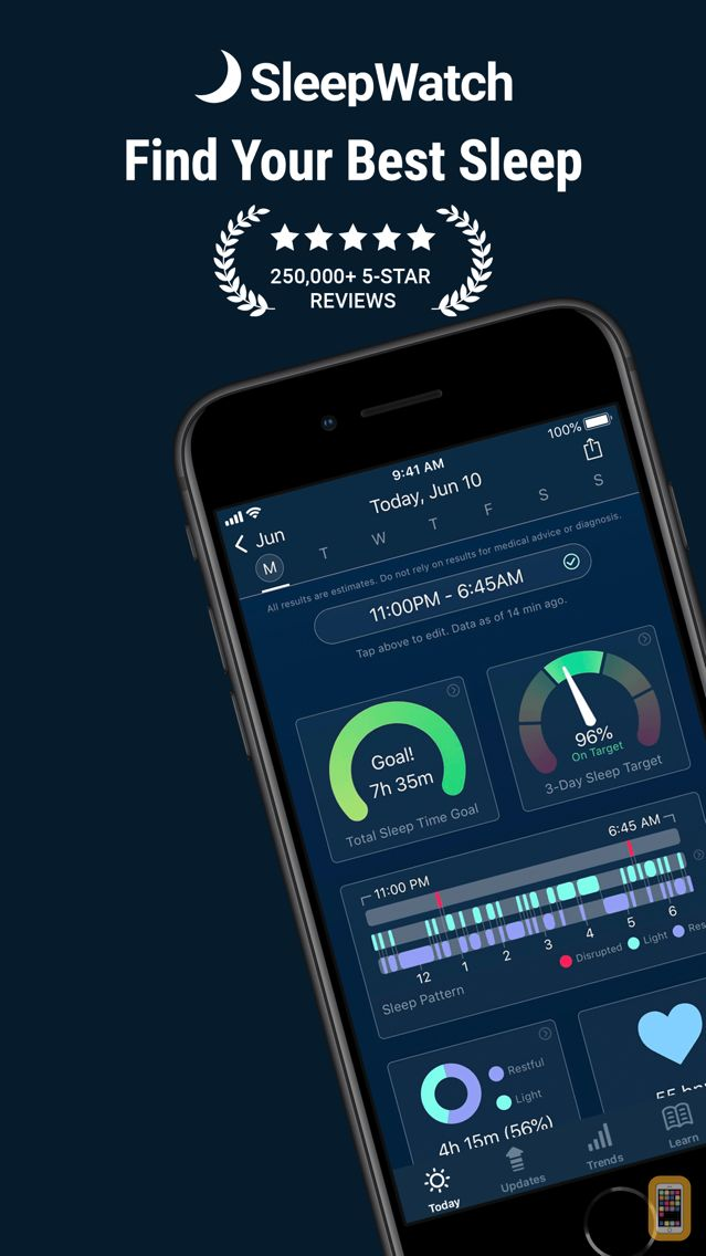 Screenshot - Sleep Watch by Bodymatter