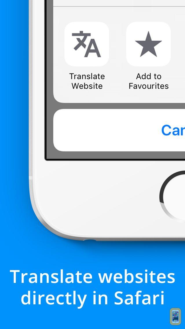 Screenshot - Website Translator