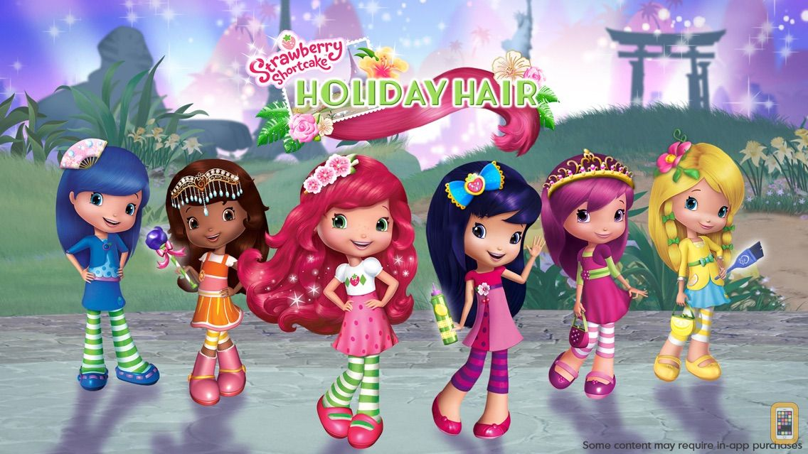 Screenshot - Strawberry Shortcake Holiday Hair - Fashion World