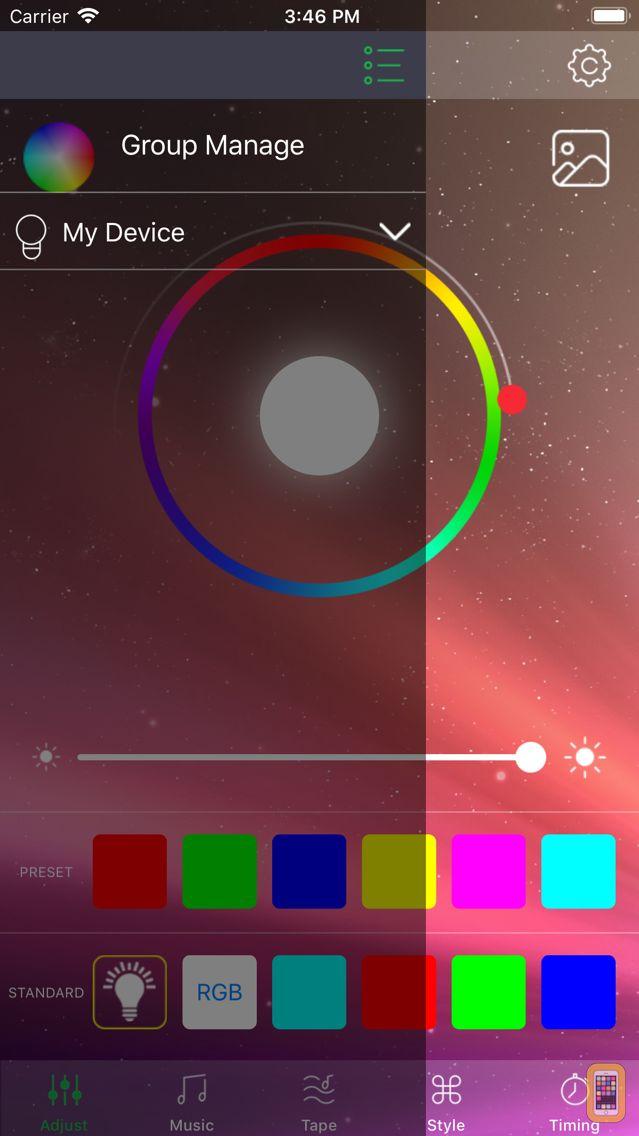 Screenshot - HappyLighting-Life with smart