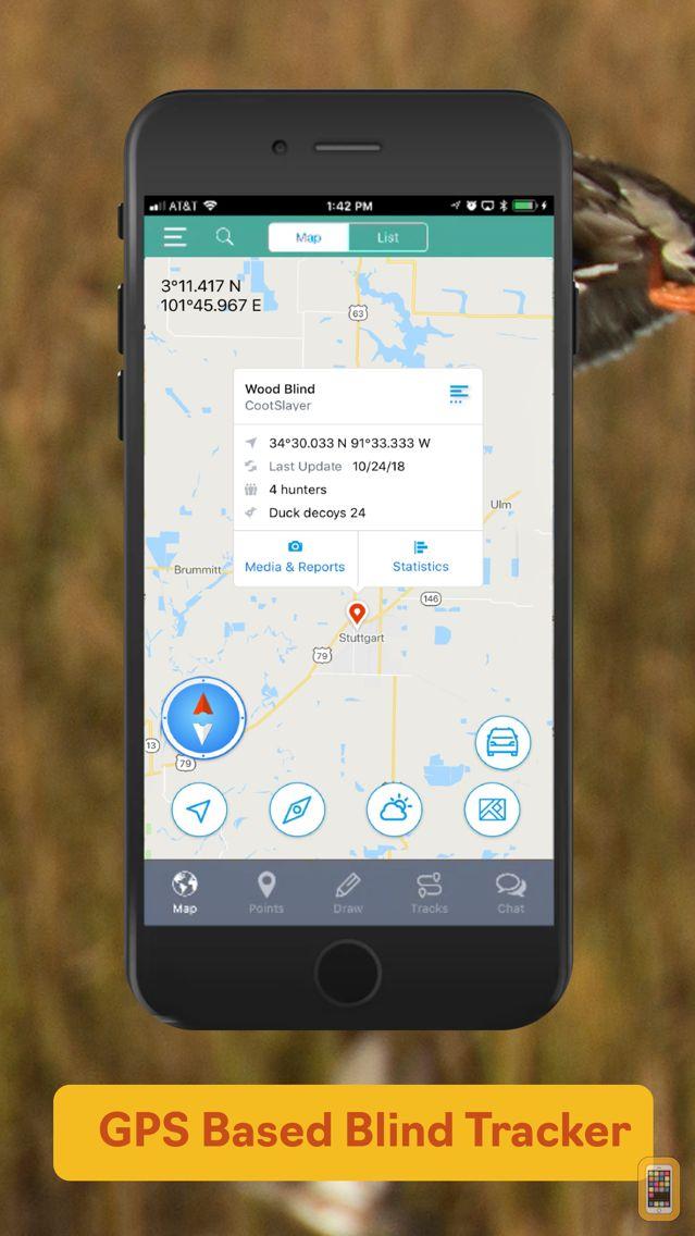 Screenshot - Duckr - Duck Hunting App & GPS