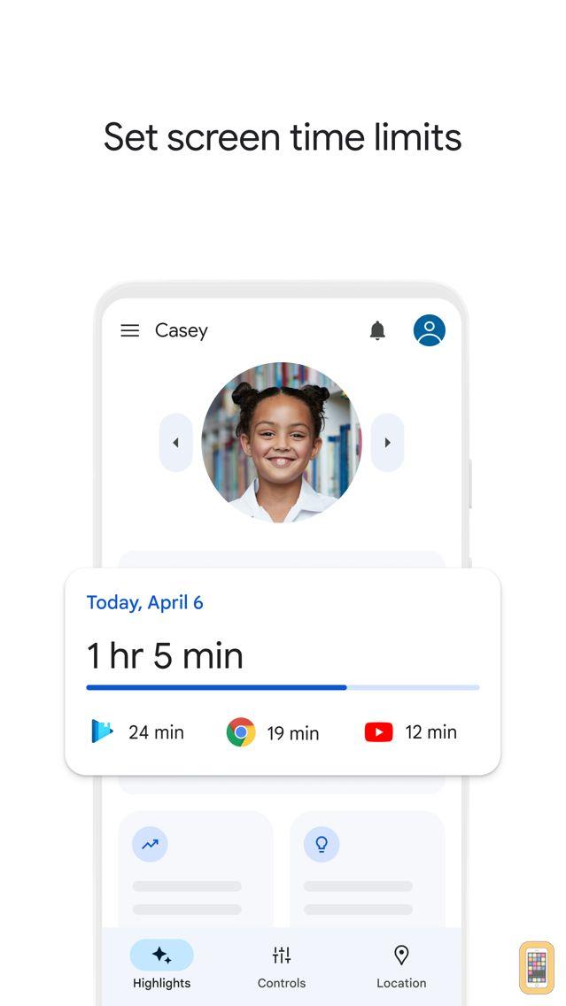 Screenshot - Google Family Link for parents