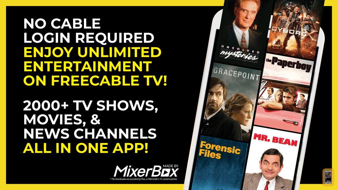 Screenshot - FREECABLE TV: News & TV Shows