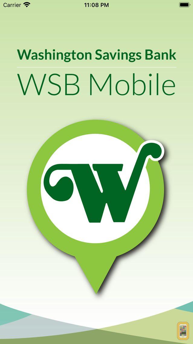 Screenshot - WSB Mobile - Washington Savings Bank