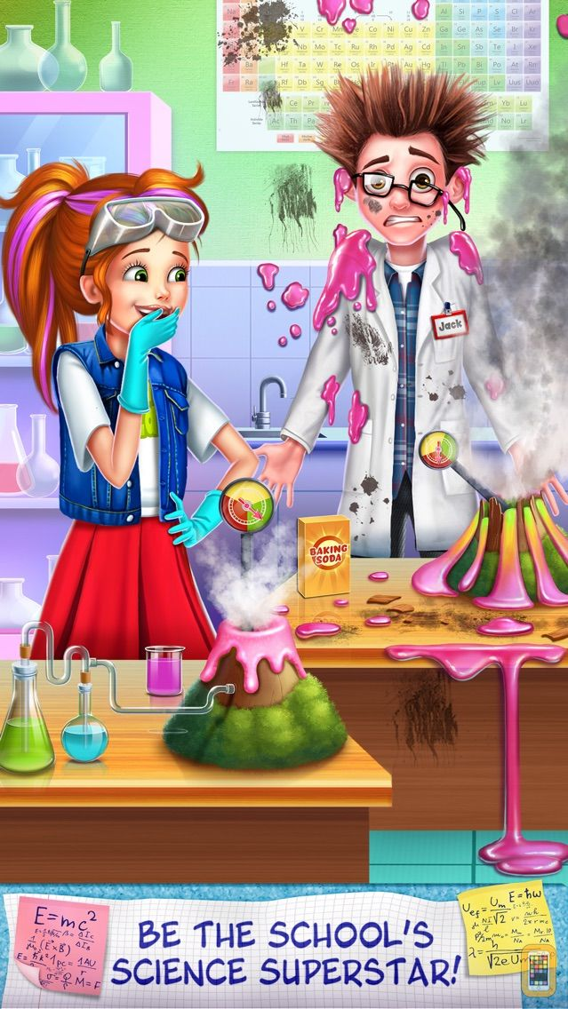 Screenshot - Science Girl - School Lab Super Star