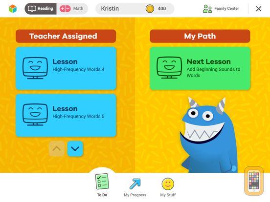 Screenshot - i-Ready for Students