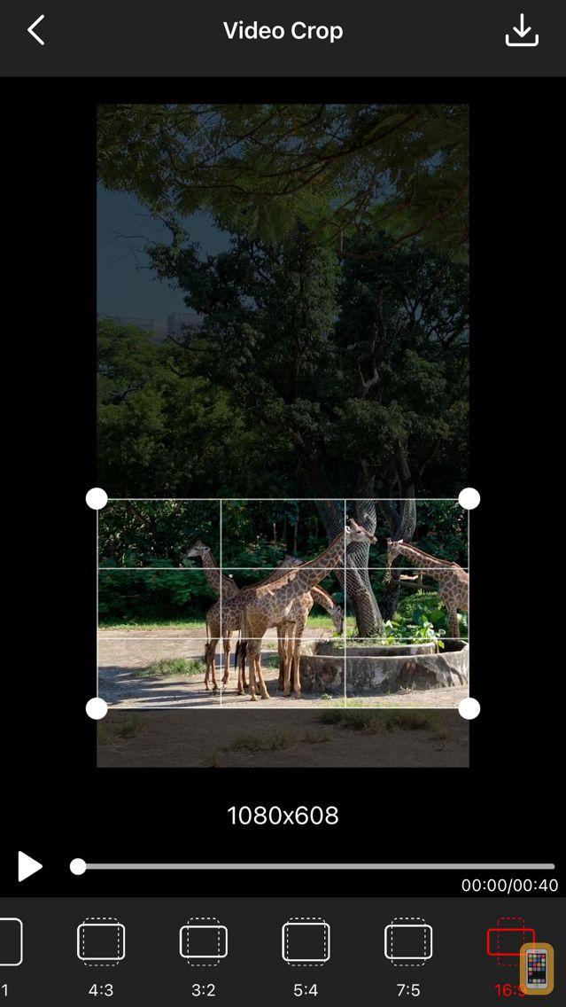Screenshot - Video Crop - Crop and Resize Video