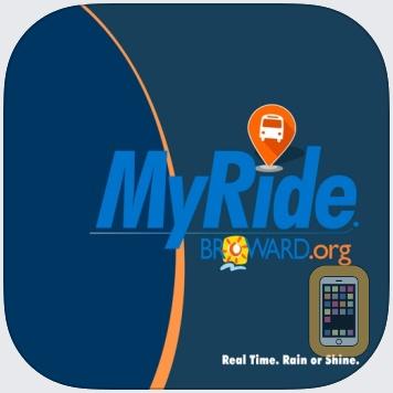 MyRide Broward by Buspas (iPhone)