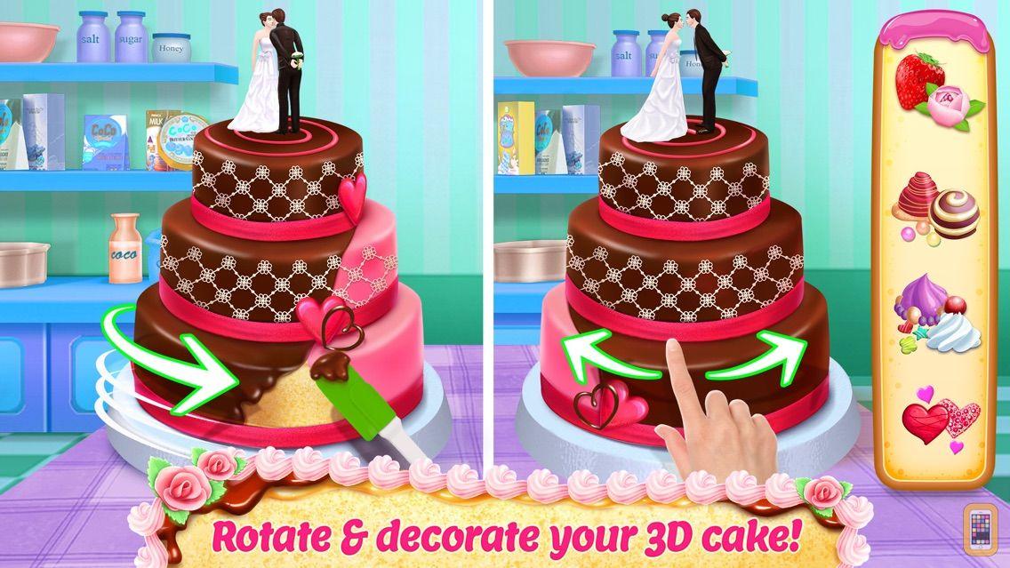 Screenshot - Real Cake Maker 3D Bakery