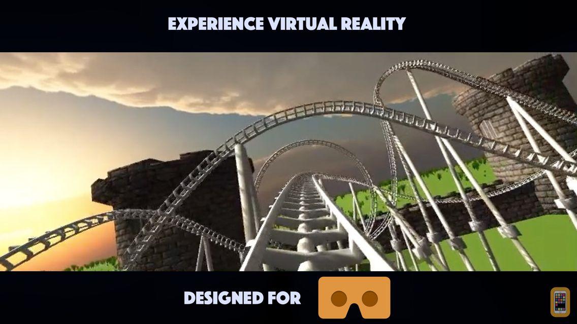 Screenshot - Roller Coaster VR for Google Cardboard