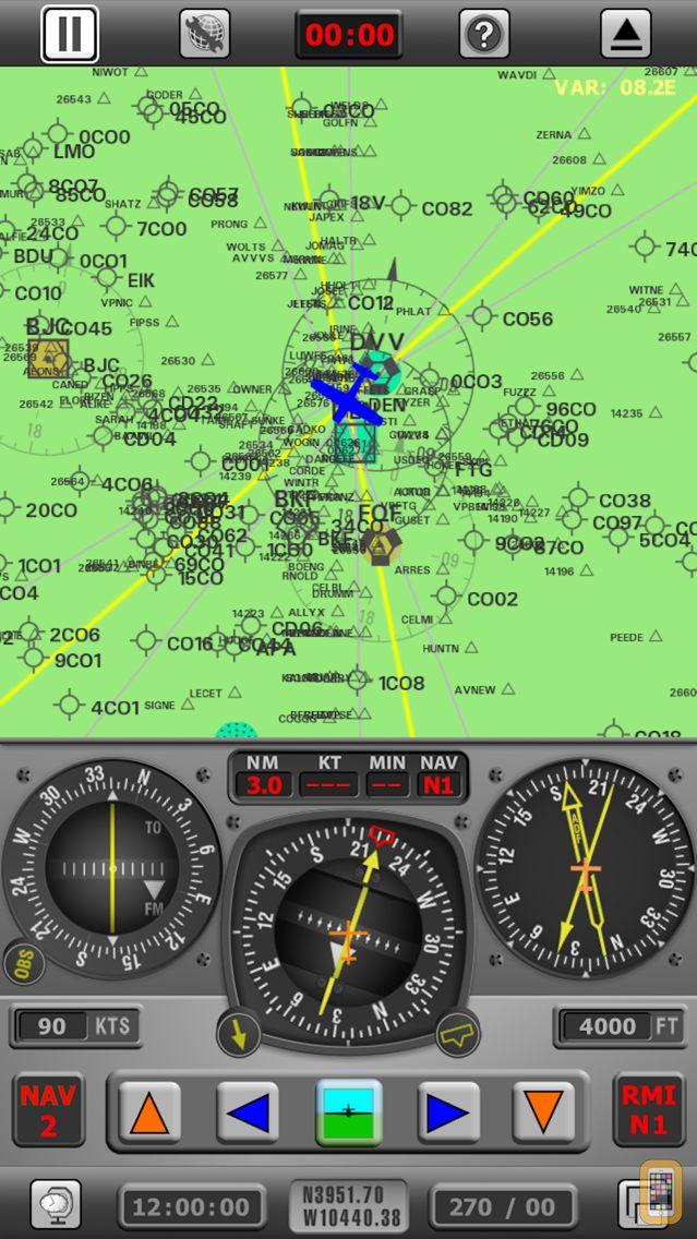 Screenshot - Radio Navigation Simulator USA