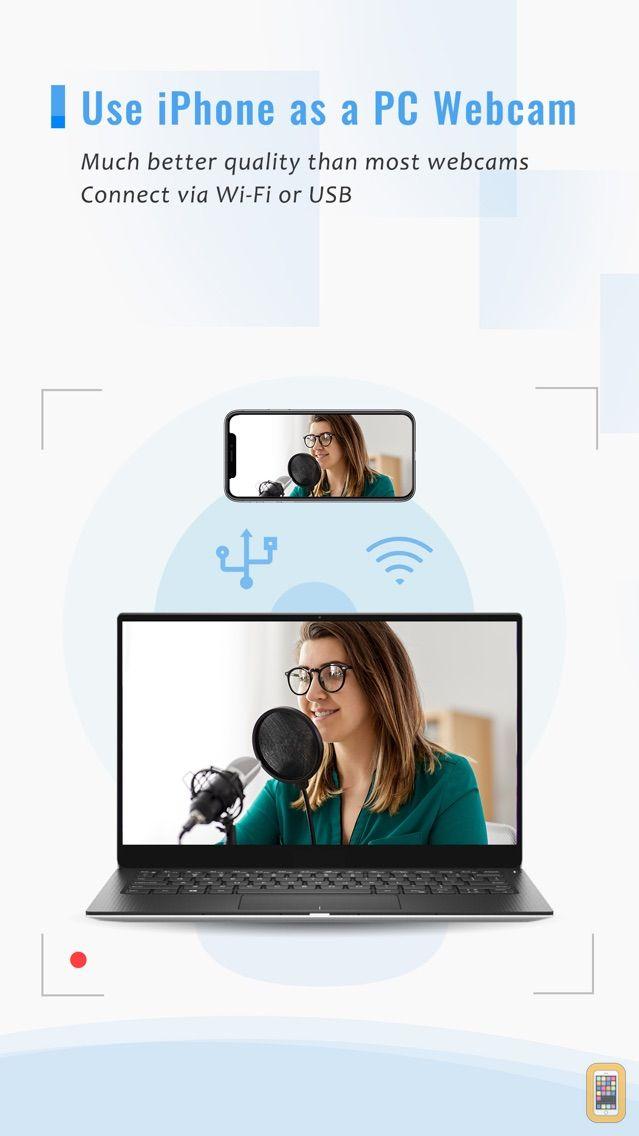 Screenshot - iVCam Webcam