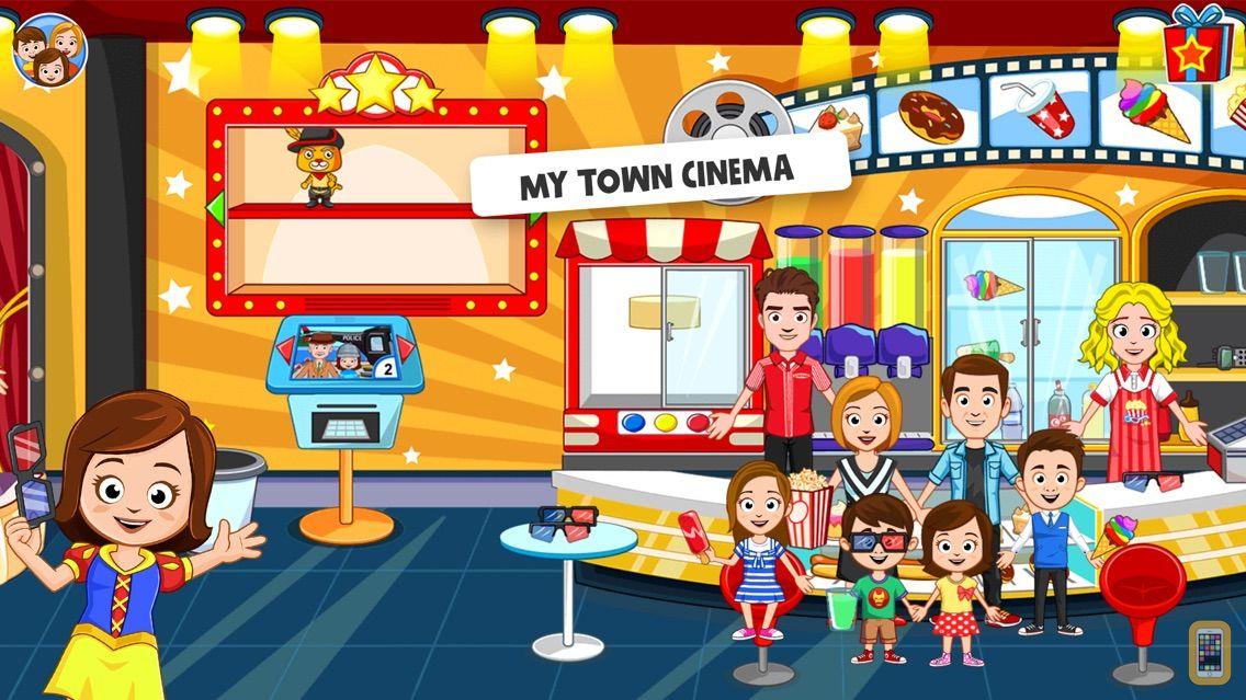 Screenshot - My Town : Cinema