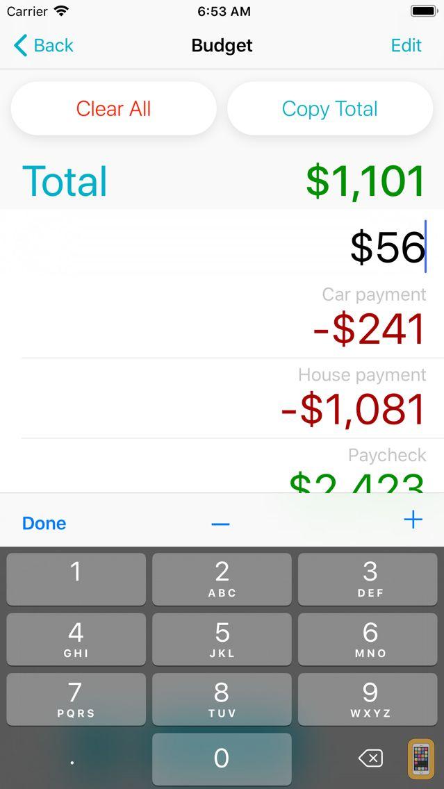 Screenshot - Total Calculator +