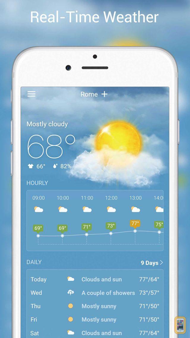 Screenshot - Live Weather - Weather Radar & Forecast app