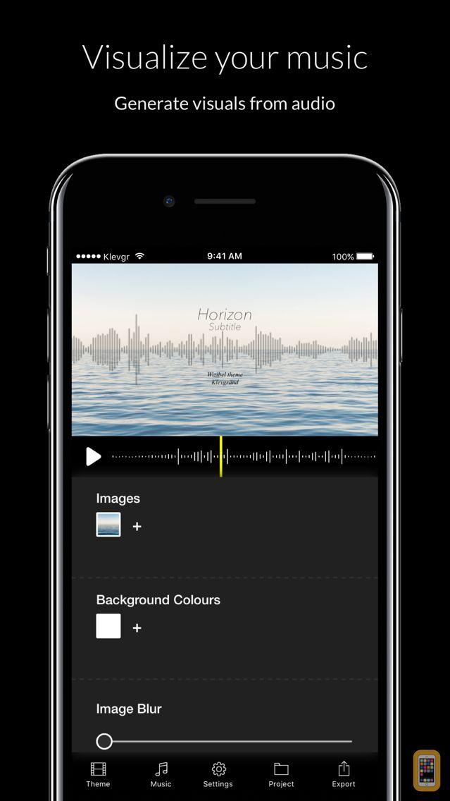 Screenshot - Wizibel - Audio Visualizer