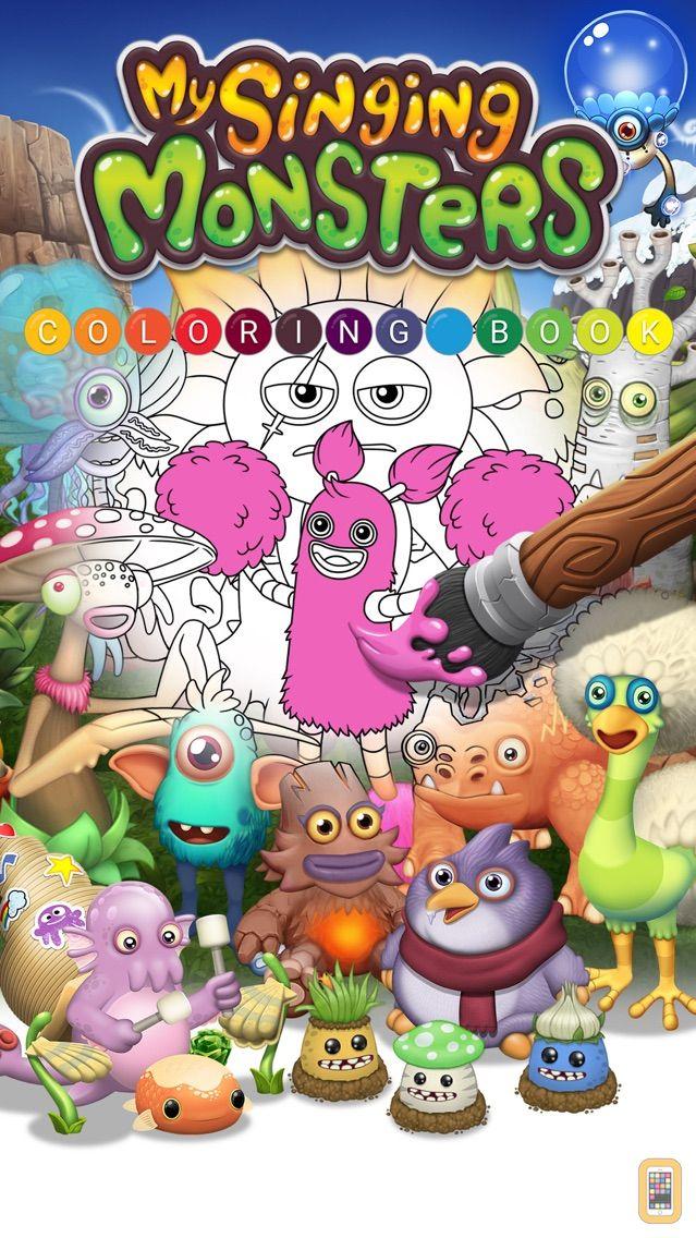 Screenshot - My Singing Monsters: Coloring Book