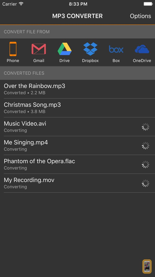MP3 Converter - Convert Videos and Music to MP3 for iPhone ...