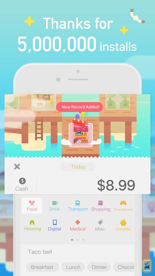 Screenshot - Fortune City - Expense Tracker