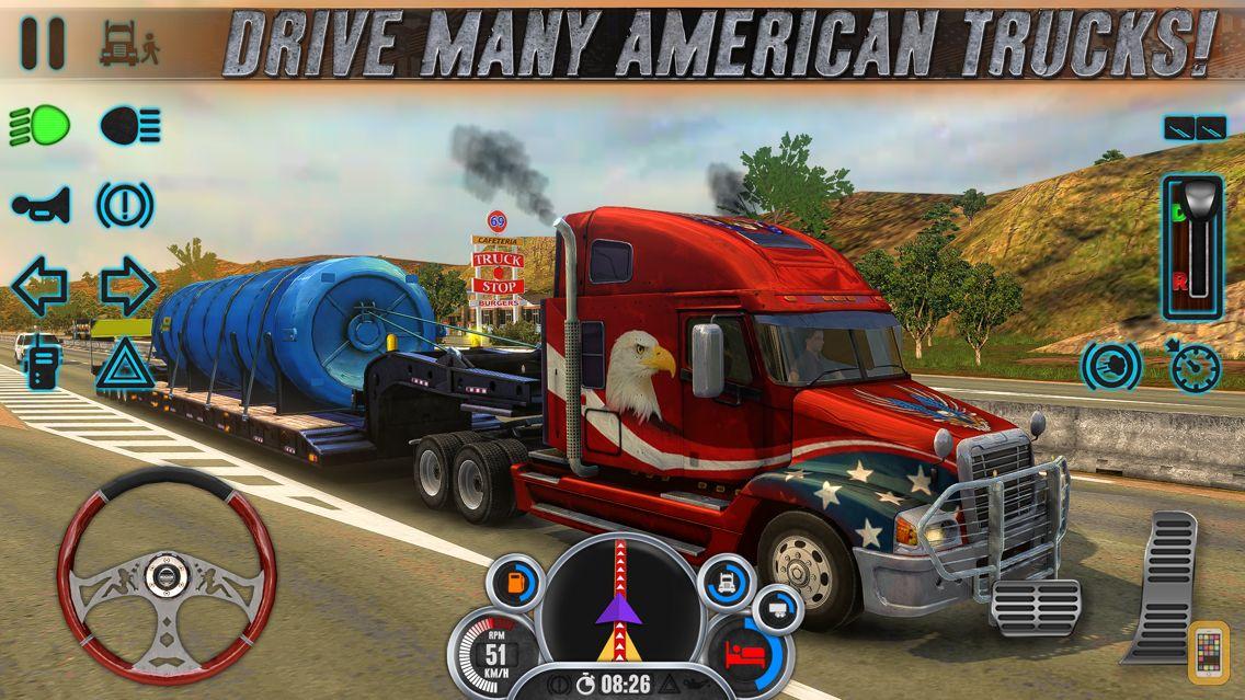 Screenshot - Truck Simulator USA Evolution