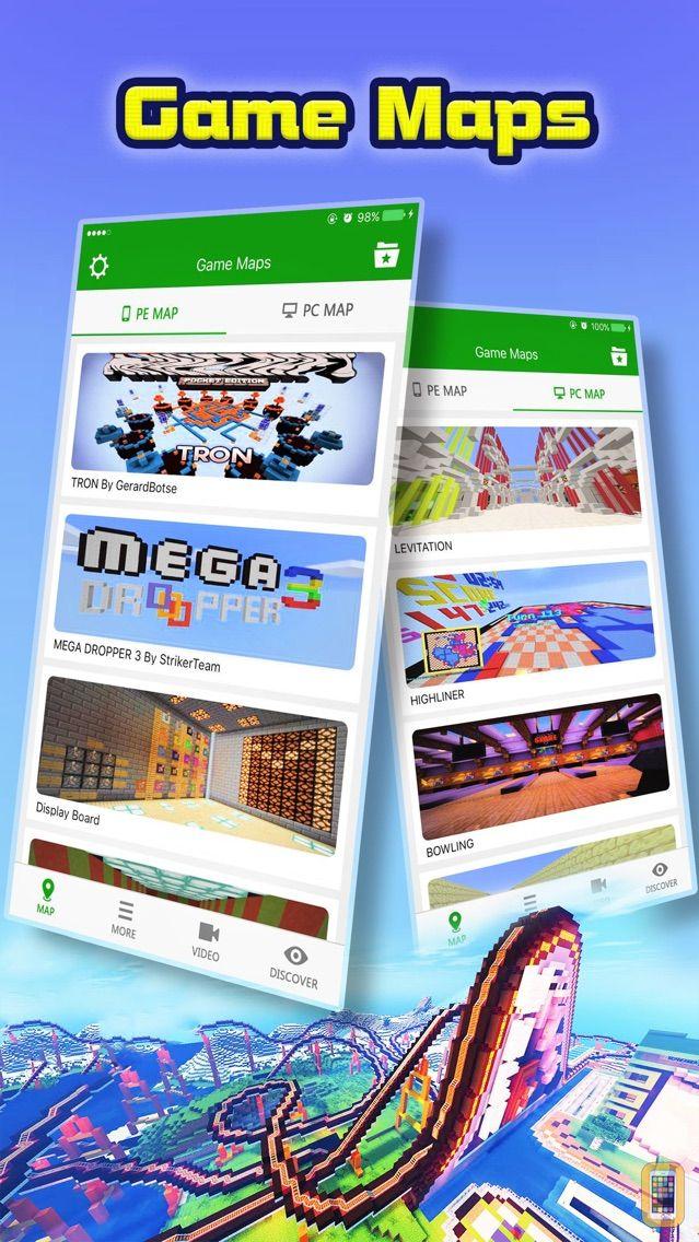 Screenshot - Mini Game Maps for Minecraft PE : Pocket Edition