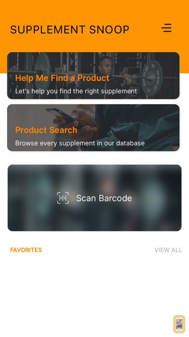 Screenshot - Supplement Snoop
