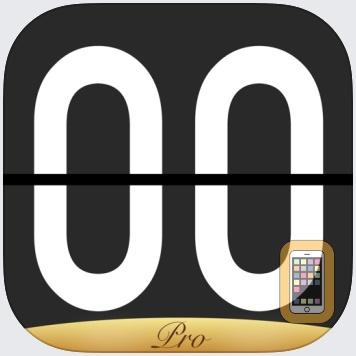 Flip Clock Pro - digital clock by 翠玲 施 (Universal)