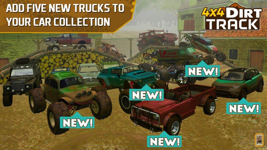 Screenshot - 4x4 Dirt Track Forest Driving