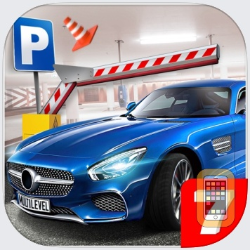 Multi Level 7 Car Parking Garage Park Training Lot by Aidem Media (Universal)