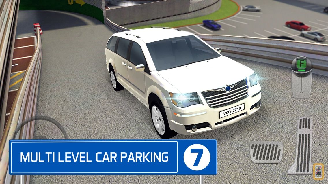 Screenshot - Multi Level 7 Car Parking Garage Park Training Lot