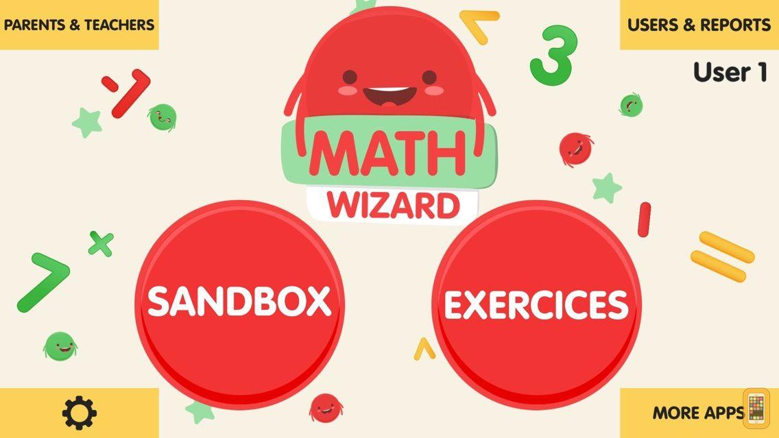 Screenshot - Math Wizard for Kids