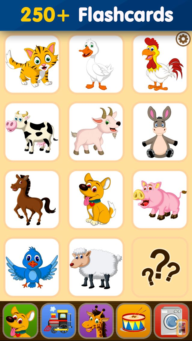 Screenshot - Toddler Flashcards HD: Baby Learning Games & Apps