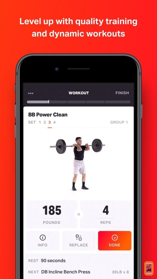 Screenshot - Volt: Gym & Home Workout Plans