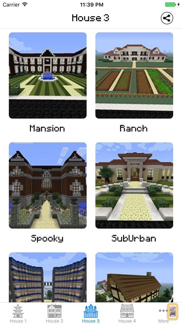 Screenshot - House & Building ideas guide for Minecraft PE
