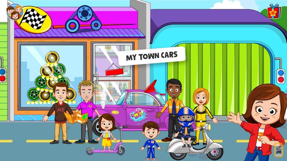 Screenshot - My Town : Car