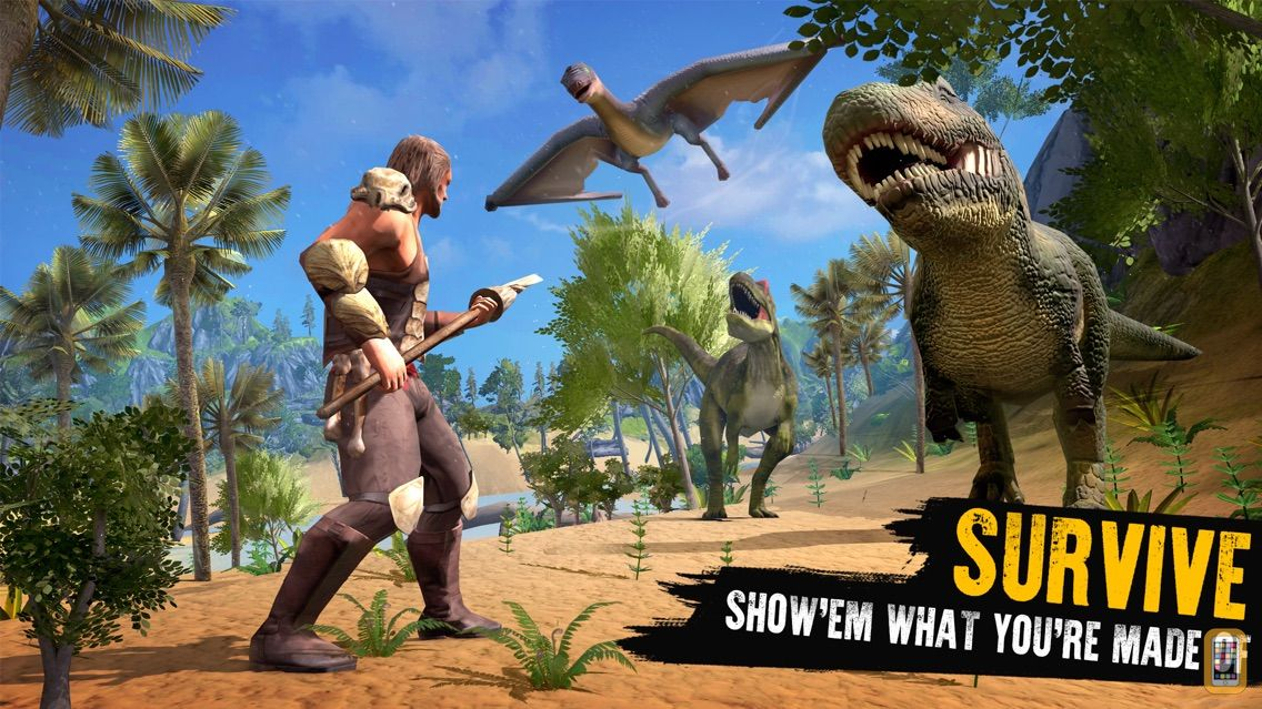 Screenshot - Jurassic Survival Island