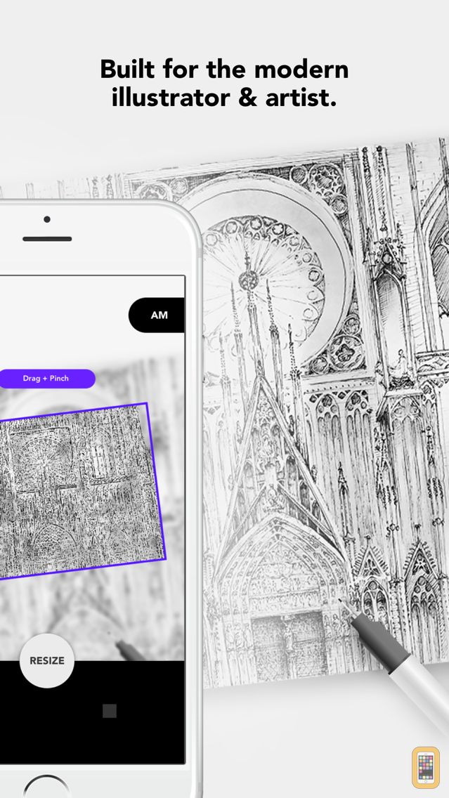 Screenshot - Drawing Grid & Outline Tracing by Myvinchy