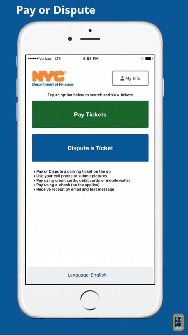 Screenshot - NYC Pay or Dispute