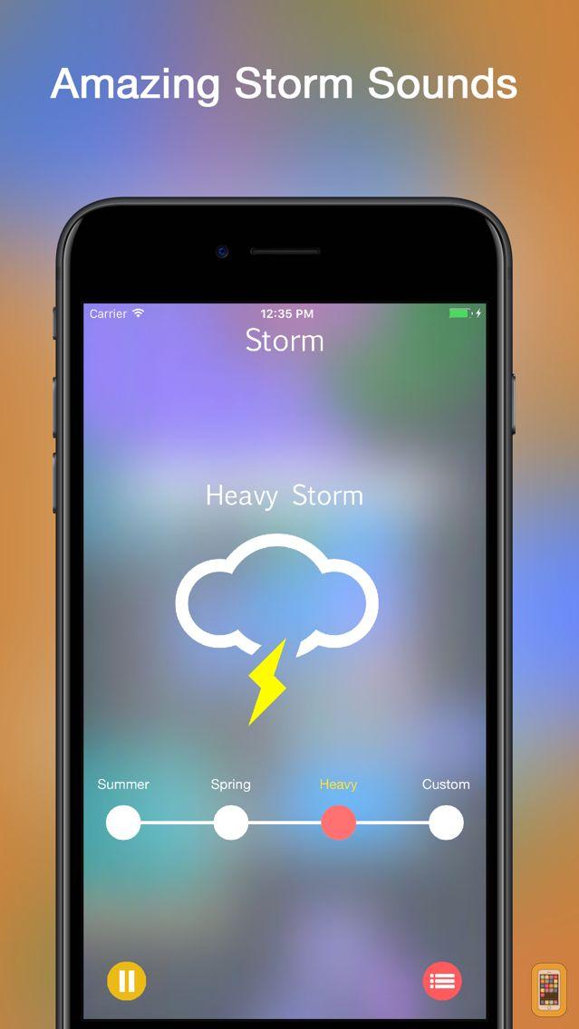 Screenshot - Storm Rain Sounds