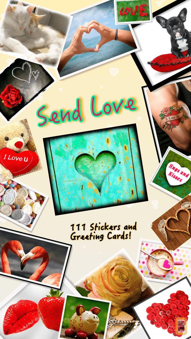 Screenshot - Send Love • Greeting cards