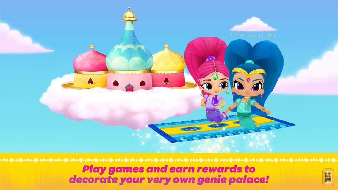 Screenshot - Shimmer and Shine: Genie Games