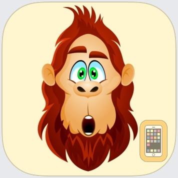 BigfootMoji – Crazy Sasquatch & Bigfoot Emojis by lovekesh Kumar (Universal)