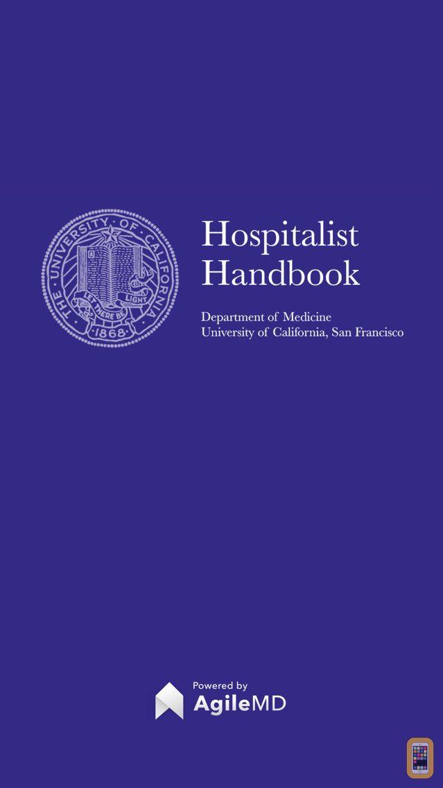 Screenshot - Hospitalist Handbook