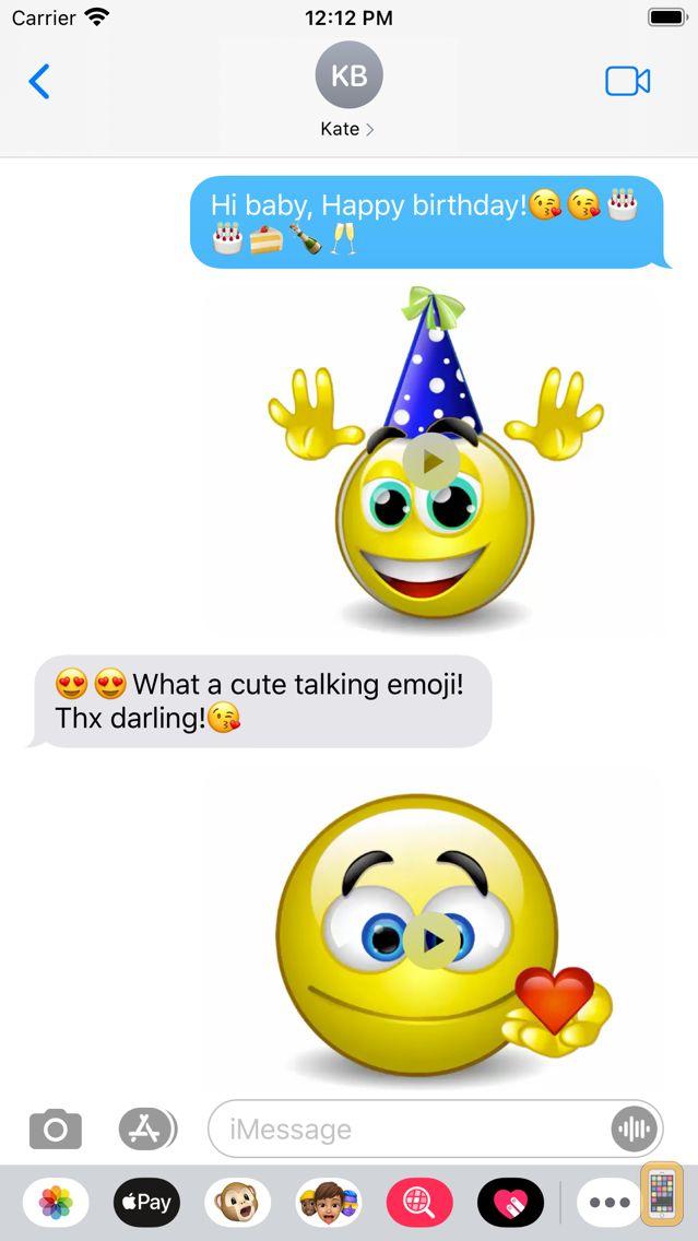 Screenshot - Talking Emoji & Speaking Emoticons Icons Pro