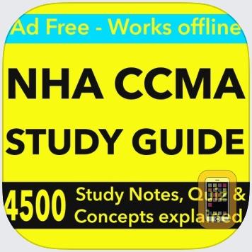NHA CCMA STUDY GUIDE & Exam Prep App 2017 by Tourkia CHIHI (Universal)