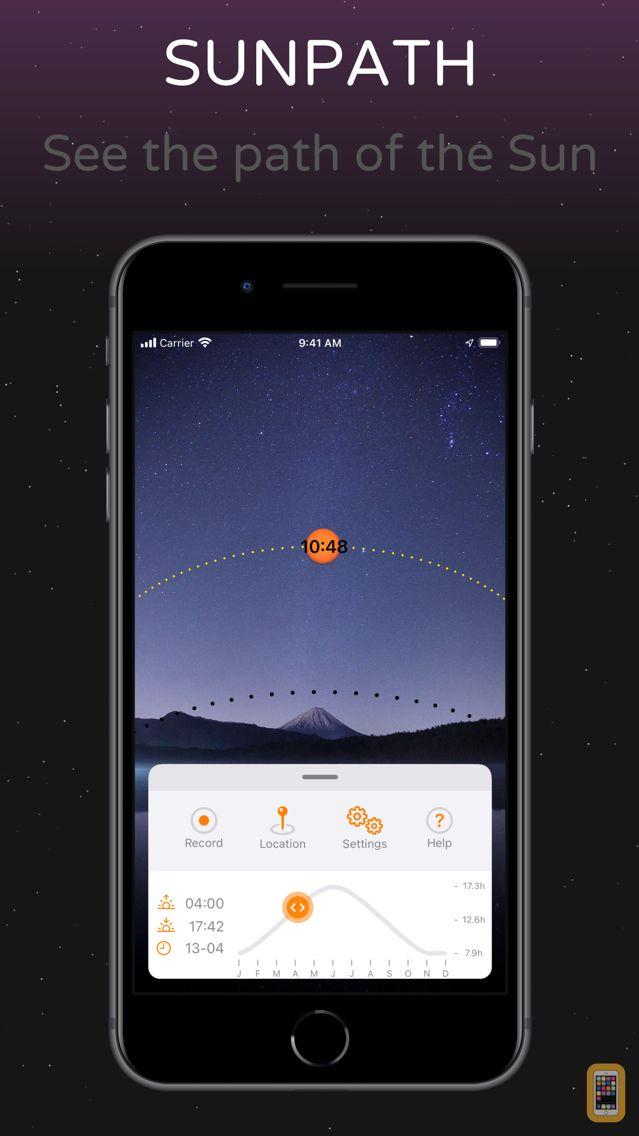 Screenshot - SunPath