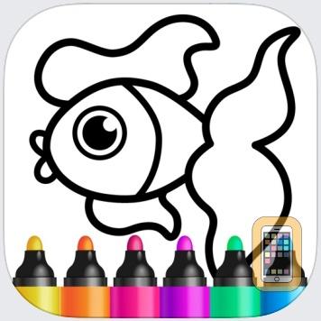 Drawing Educational Kids Games by Bini Bambini Academy (Universal)