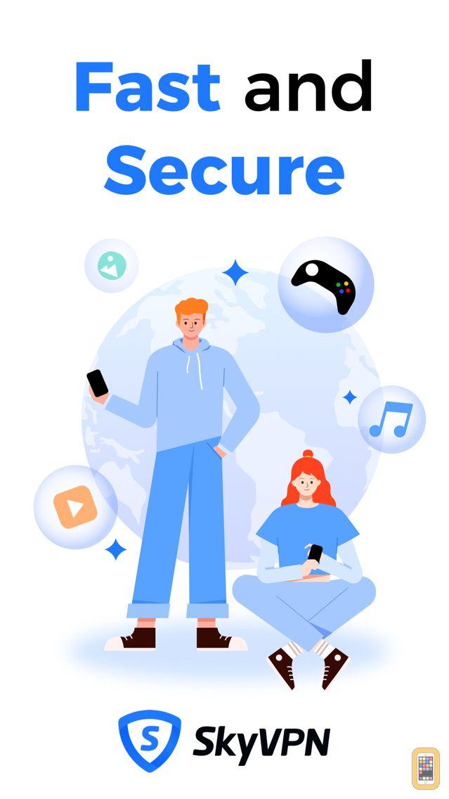 SkyVPN - Best VPN Proxy Shield for iPhone & iPad - App Info